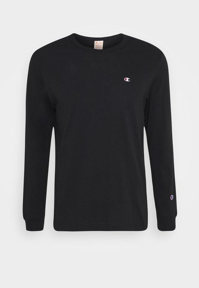 CREWNECK LONG SLEEVE - Long sleeved top - black