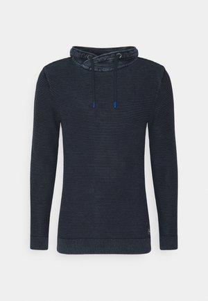 WASHED SNOOD - Sweatshirt - dark blue