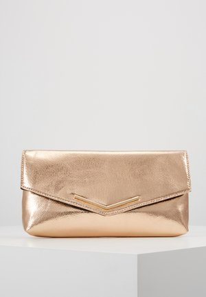 STITCHED BAR - Pikkulaukku - rose gold