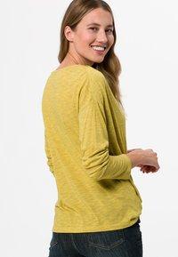 zero - Long sleeved top - light mustard melange - 2
