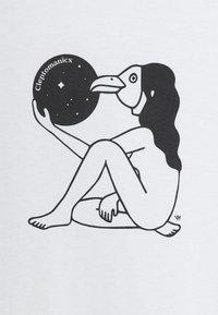 Cleptomanicx - I AM GULL - Print T-shirt - white - 2