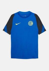 Nike Performance - INTER MAILAND - Club wear - blue spark/black/tour yellow - 0