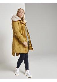TOM TAILOR DENIM - Parka - indian spice yellow - 1