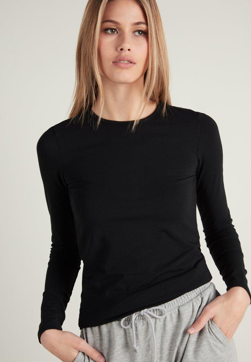 Tezenis - Long sleeved top - nero