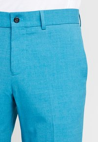 Lindbergh - PLAIN MENS SUIT - Oblek - turquoise melange - 6