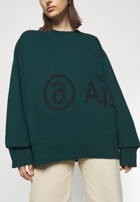 MM6 Maison Margiela - Sweatshirt - duck green - 7