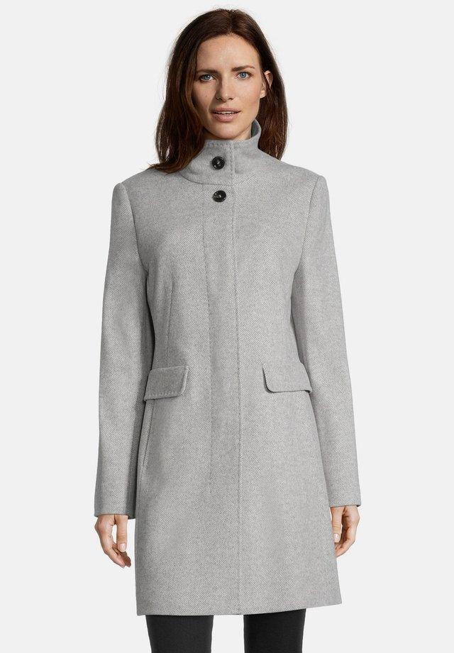 MIT STEHKRAGEN - Winter coat - light silver melange