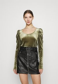 Monki - OLISA - Long sleeved top - khaki green - 0