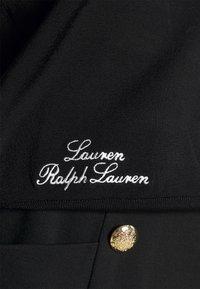 Lauren Ralph Lauren - DENZEL LONG SLEEVE - Sweatjakke - black/white - 5