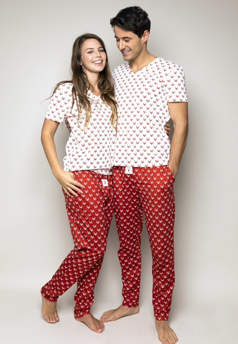 Happy Pijama - Fancy - Pyjama set - red