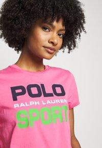 Polo Ralph Lauren - T-shirt con stampa - pink - 3