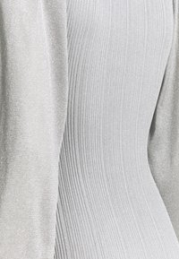 Missguided Tall - PUFF SLEEVE MIDI DRESS - Jumper dress - silver - 2