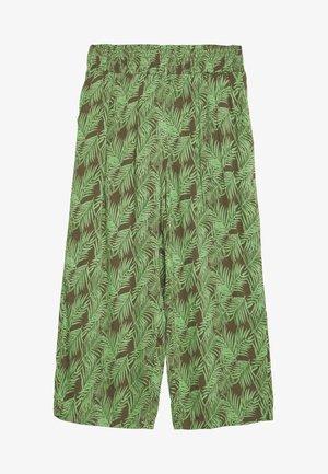 NMFLORA NM CULOTTE PANT - Kalhoty - kalamata/green ash