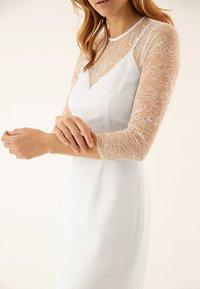 IVY & OAK BRIDAL - Vestido de cóctel - white - 4
