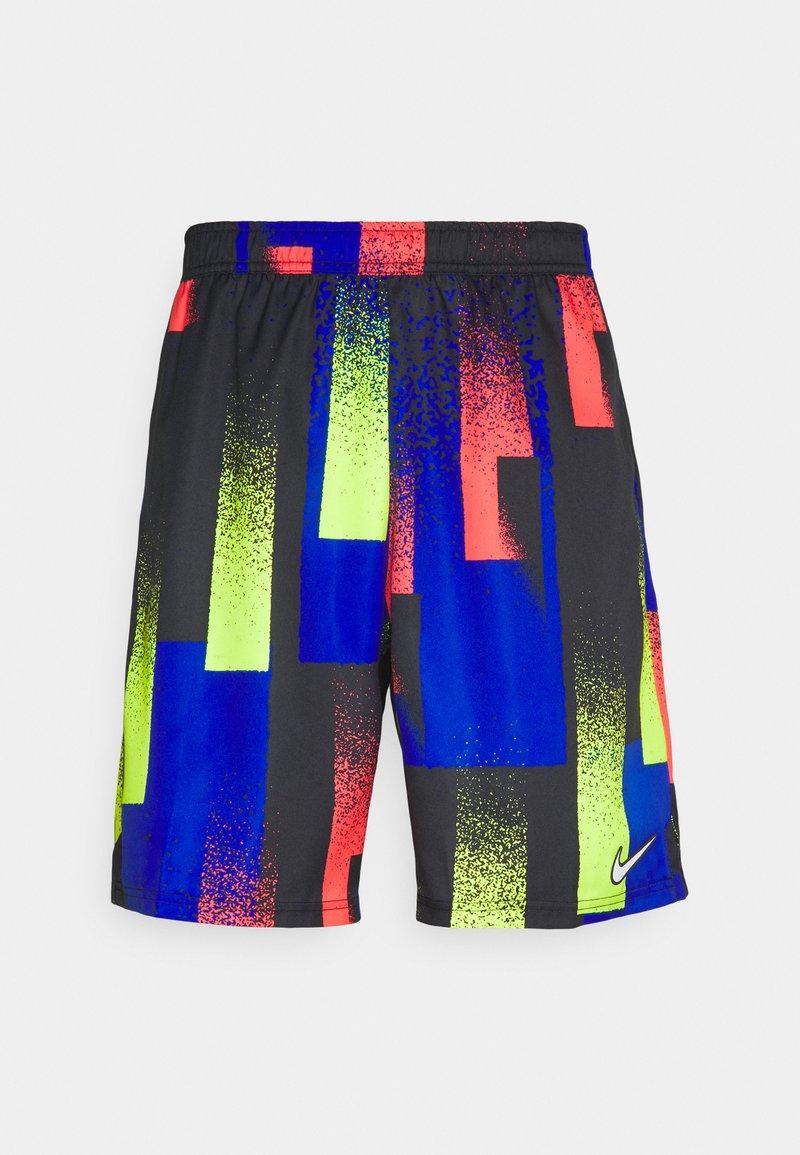 Nike Performance - DRY SHORT PRINT - Sports shorts - hyper royal/white