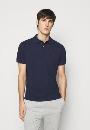 SHORT SLEEVE - Polo - spring navy heather
