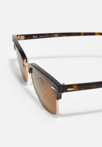 Ray-Ban - CLUBMASTER SQUARE - Sunglasses - mottled brown/brown - 3
