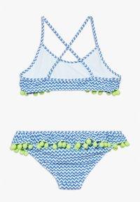 Sunuva - GIRLS FRILL  - Bikinier - blue - 1