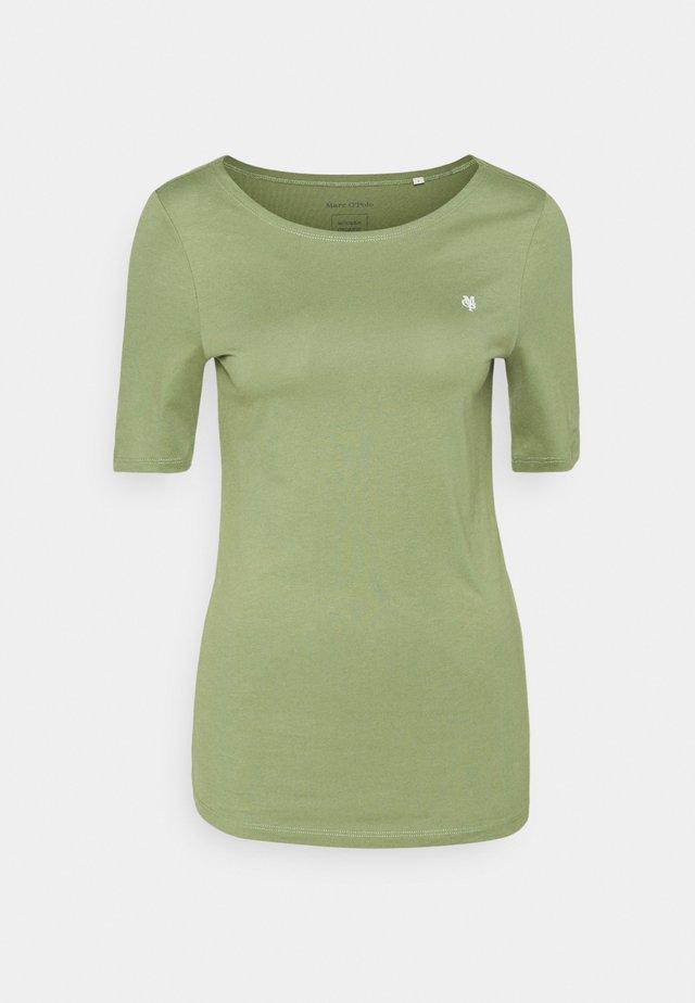 SHORT SLEEVE ROUND NECK - Camiseta básica - dried sage