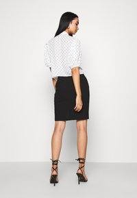 ICHI - IHUDELE - Pencil skirt - black - 2