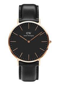 Daniel Wellington - CLASSIC SHEFFIELD 40M - Zegarek - schwarz - 0