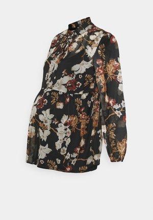 SEOEL 2-IN-1 - Button-down blouse - black