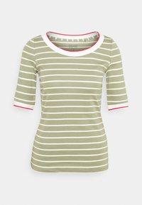 Esprit - TEE - Print T-shirt - light khaki - 0