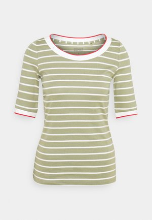 TEE - T-shirt con stampa - light khaki