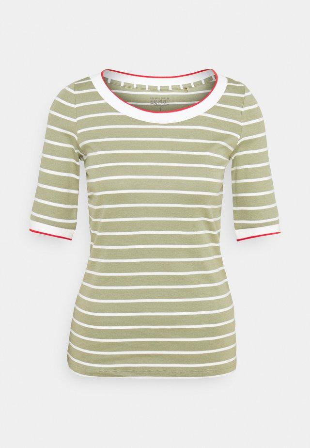 TEE - Print T-shirt - light khaki