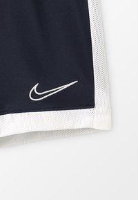 Nike Performance - DRY ACADEMY  - Sports shorts - obsidian/white/white - 4