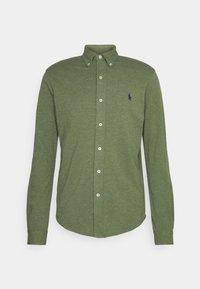 FEATHERWEIGHT MESH SHIRT - Shirt - moss green heather