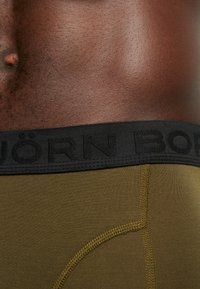 Björn Borg - SAMMY COFFEE SOLID 2 PACK - Panty - olive / night - 4