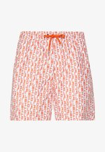 Pantalon de survêtement - white/orange