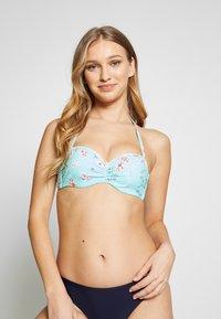Sunseeker - WIRE BANDEAU - Bikini top - turquoise - 0