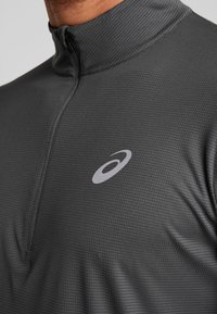 ASICS - ZIP - Long sleeved top - dark grey - 4