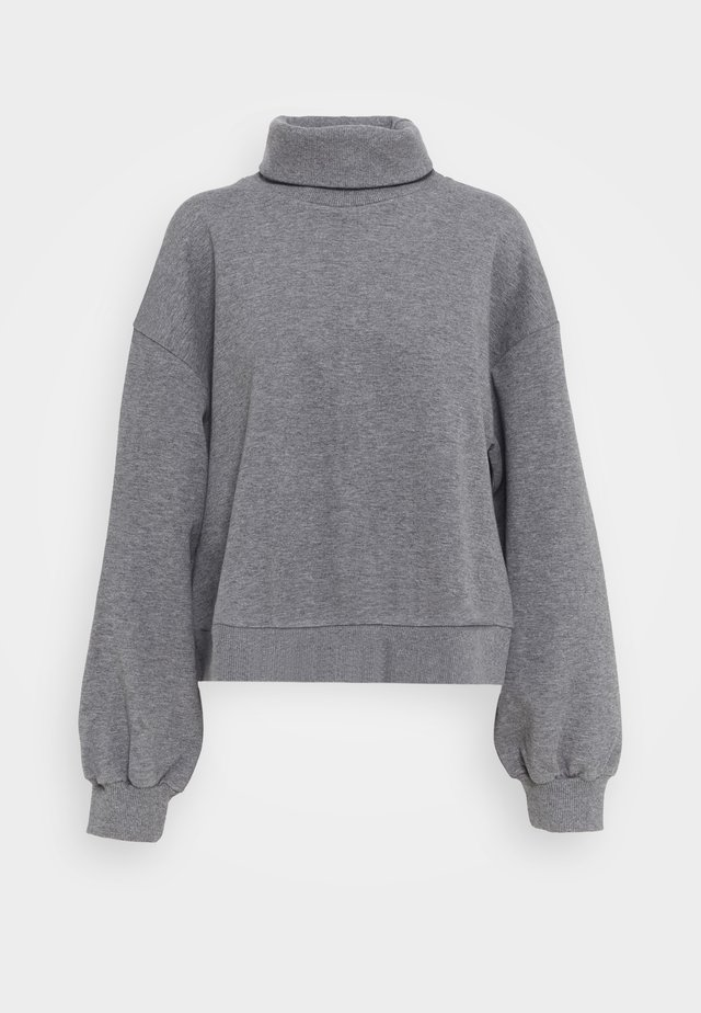 WILMA  - Sweater - dark grey melange