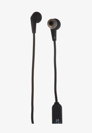 MADRID BLUETOOTH IN-EAR - Headphones - dark clown black