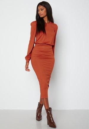 BESA - Shift dress - copper