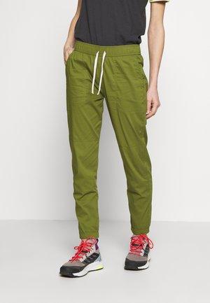 JOY PANT - Trousers - pesto green