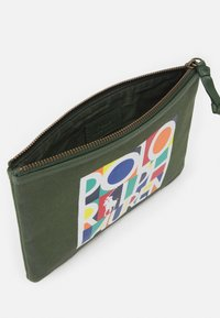 Polo Ralph Lauren - POUCH SMALL UNISEX - Wash bag - army olive - 2