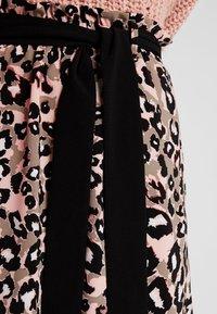 s.Oliver BLACK LABEL - KURZ - A-line skirt - brown - 4