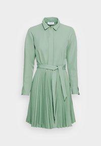 Closet - CLOSET PLEATED DRESS - Shirt dress - mint - 3
