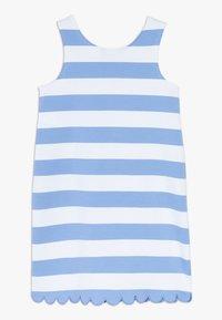 Polo Ralph Lauren - PONTE - Žerzejové šaty - harbor island blue/white - 1