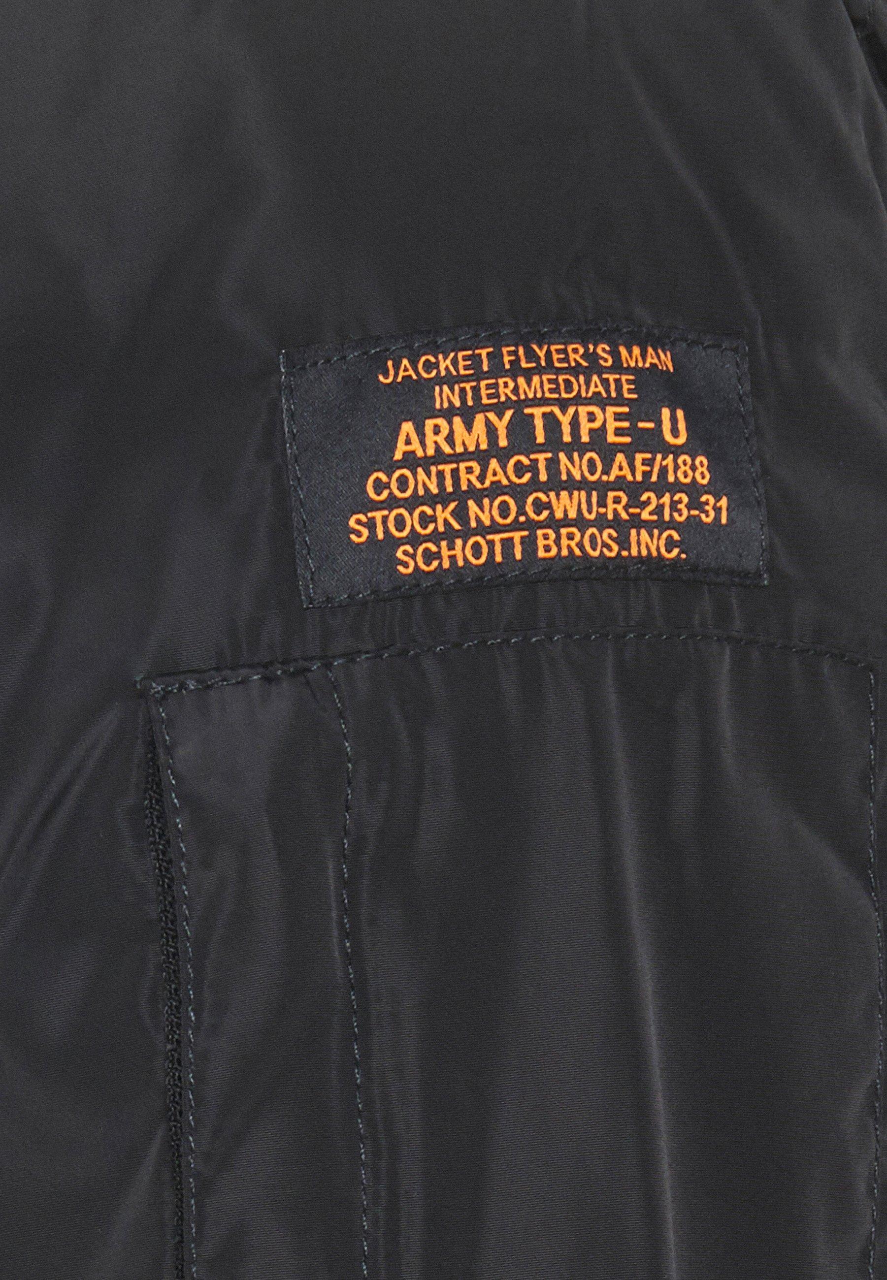 Affordable Men's Clothing Schott Bomber Jacket black clmzP8LpM