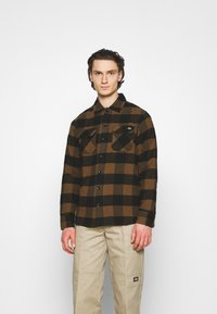 Dickies - NEW SACRAMENTO - Camicia - brown duck - 0