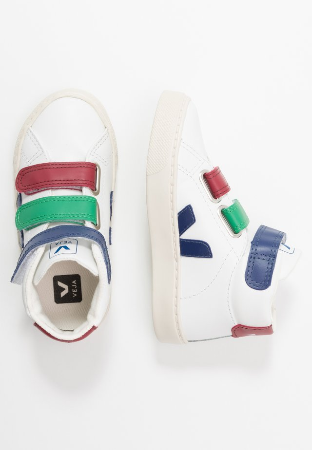 ESPLAR MID SMALL - High-top trainers - extra white/multicolor/cobalt