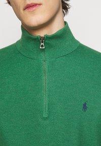 Polo Ralph Lauren - LONG SLEEVE  - Stickad tröja - potomac green heather - 5