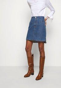 See by Chloé - A-line skirt - deep denim - 0