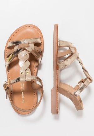 BADAMI - Sandals - beige/or