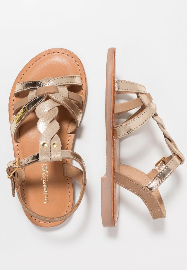 BADAMI - Sandals - beige/or